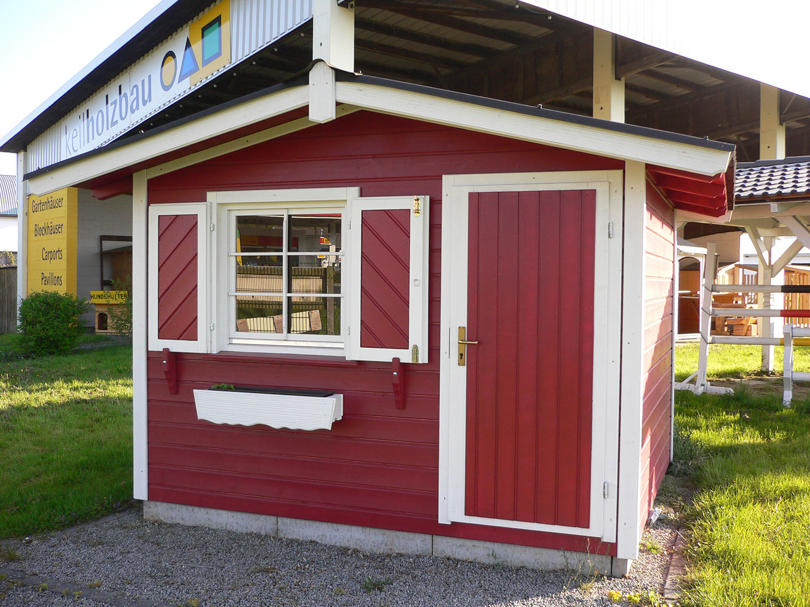 keilholzbau - gartenhaus, blockhaus, gerätehaus, pavillon, carport